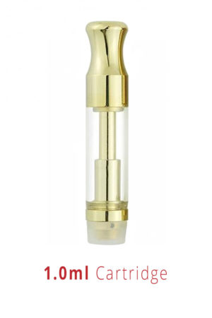 Gold Round Tip – 1ml Cartridges